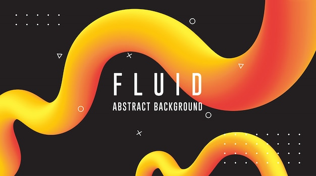 Fluid abstract backgrounds, gradient abstract backgrounds, modern abstract background