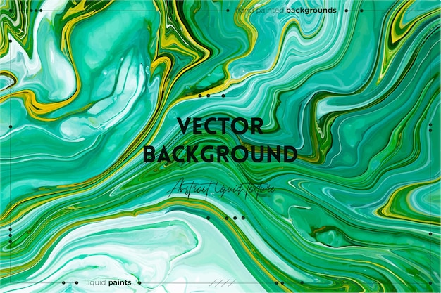 Жидкая художественная текстура абстрактный фон с эффектом переливающейся краски жидкая акриловая картина