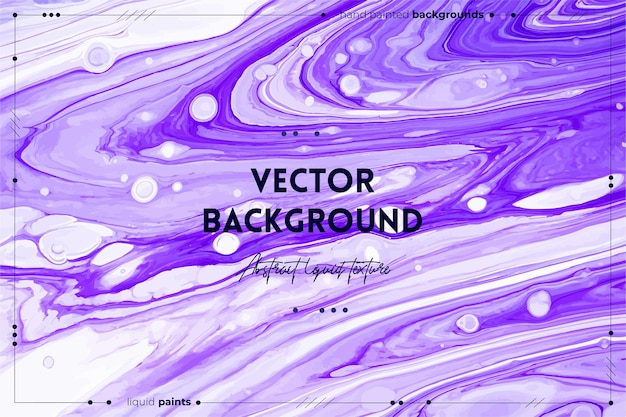 Fluid art texture background with abstract iridescent paint effect liquid acrylic picture that flows and splashes mixed paints for website background violet white and lavender overflowing colors