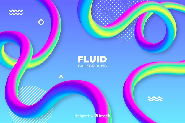 Fluid background