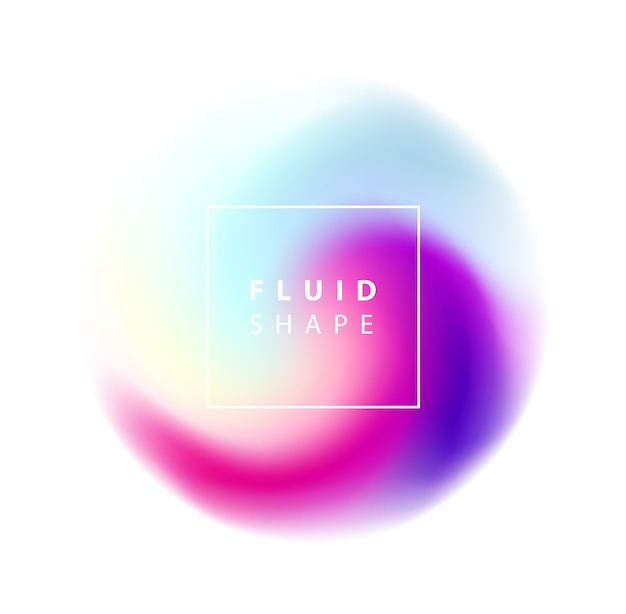 Fluid colors background. illustration for social media banners, posters designs, ads, promotional material.