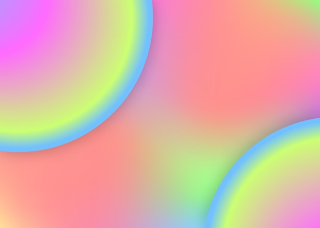 Fluid dynamic. holographic 3d backdrop with modern trendy blend. colorful poster, cover layout. vivid gradient mesh. fluid dynamic background with liquid shapes and elements.