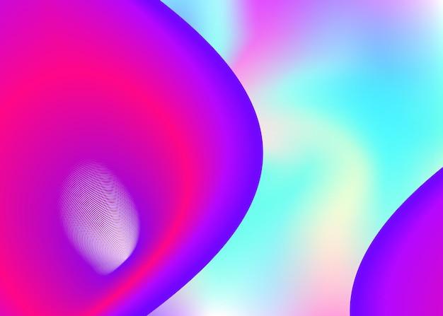 Гидродинамика. яркая градиентная сетка