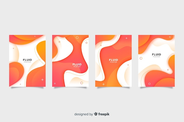 Fluid poster collection