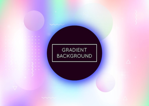 Fluid shapes background with liquid dynamic elements