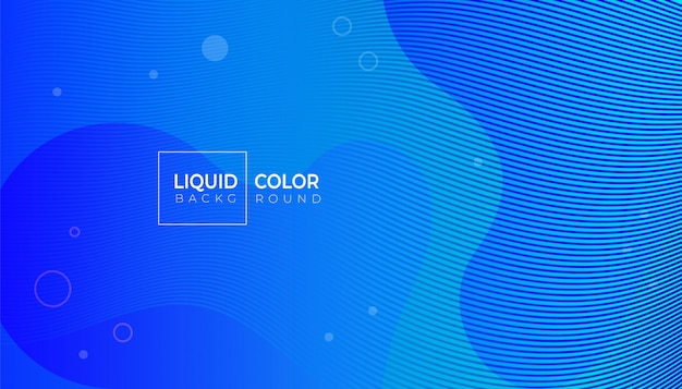 Fluid shapes composition for web brochure