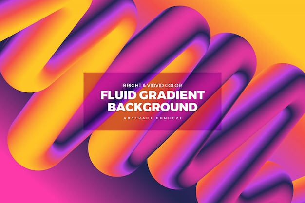 Fluid vivid gradient background 11