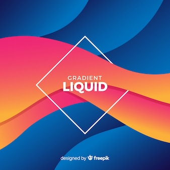 Fluid wave background