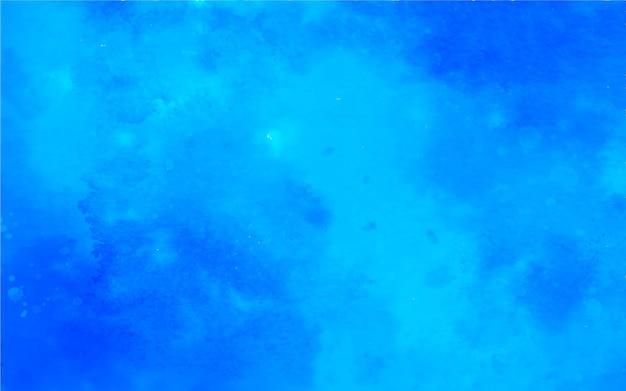 フルオロブルーの水彩画の背景