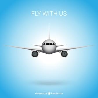 Vola con noi sfondo