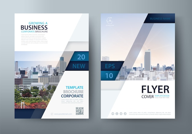 Flyer, book cover template. layout in a4 size.