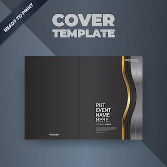 チラシパンフレットデザインテンプレートカバーデザイン