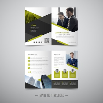Flyer brochure design template