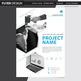 Flyer or brochure professional, abstract magazine cover catalogue