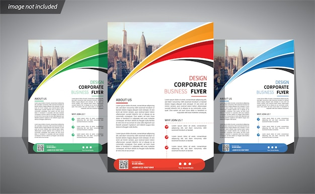 Flyer business template corporate