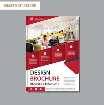 Шаблон бизнес-листа для фоновой брошюры