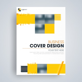 Flyer or cover design for business
