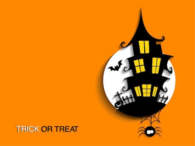 Flyer on halloween party night
