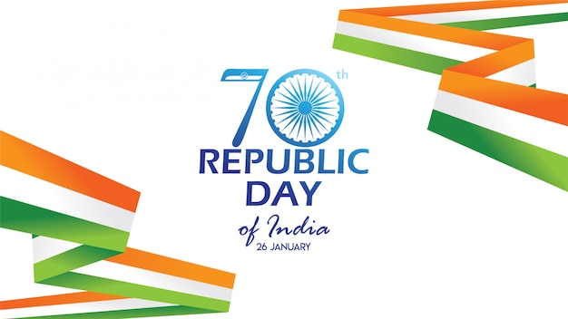 Flyer for republic day of india