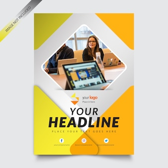 Flyer Template-Business Brochure Template