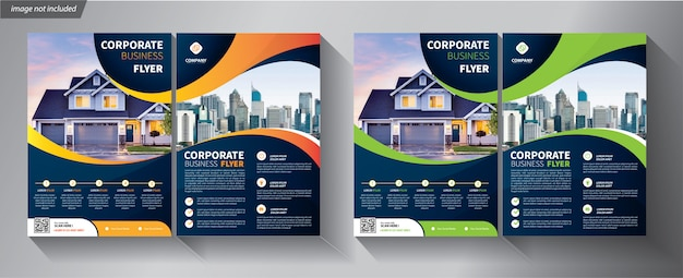 Flyer template for company