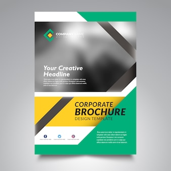 Flyer template design, business flyer template design
