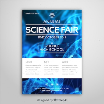 Flyer template for science fair
