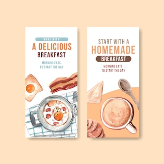Flyer templates for daily life