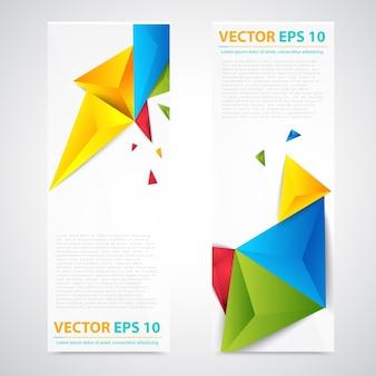 Дизайн заголовка шаблона flyer.
