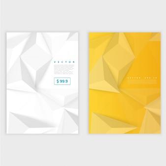 Плакат шаблона flyer и передний дизайн.