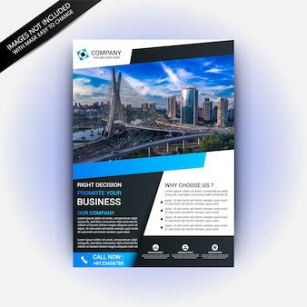 Шаблон бизнес-идеи flyer