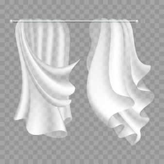 透明のフライングカーテン