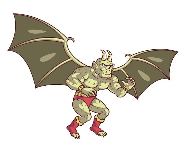 Flying gargoyle monster
