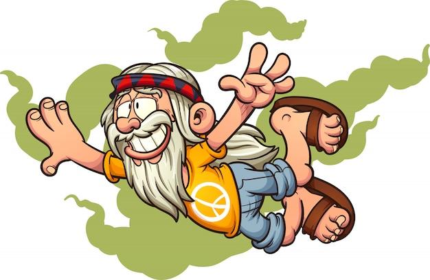 Flying hippie