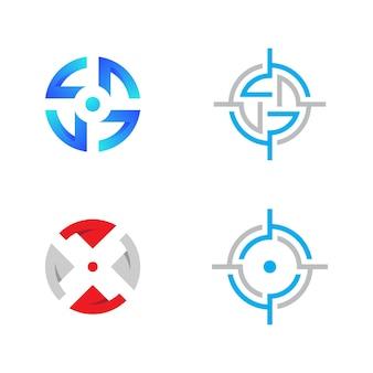 Focus icon vectr illustration design template