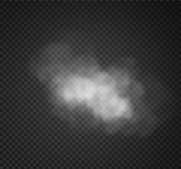霧や煙が透明な特殊効果を分離しました。