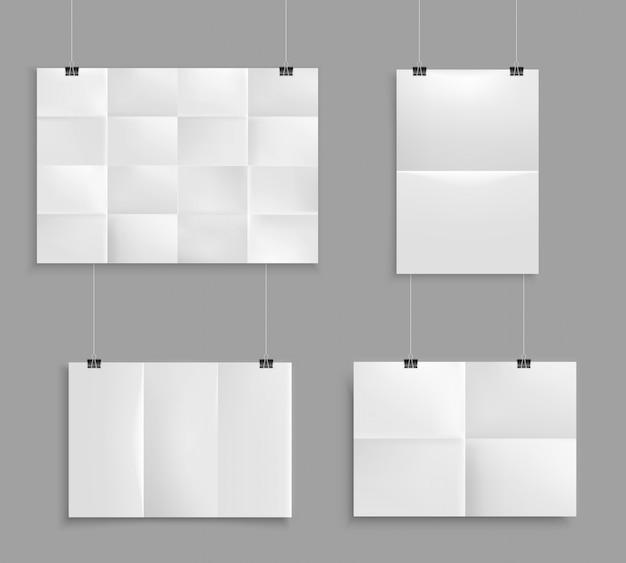 Folded paper set