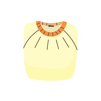 Сложенный свитер