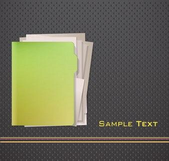 Folder background design
