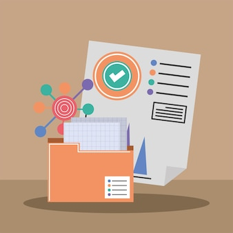 Folder file financial