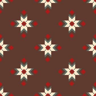 Folk ornamental textile seamless pattern. pattern for design of fabrics, carpets, postcards