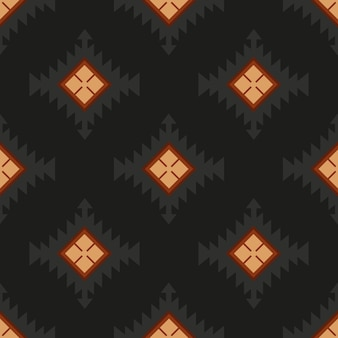 Народный орнаментальный текстиль бесшовные модели