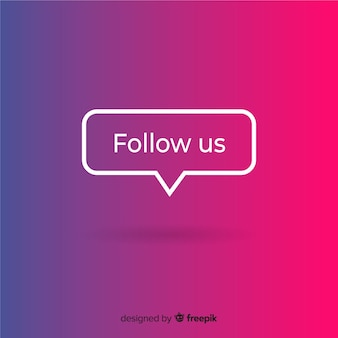 Follow us background