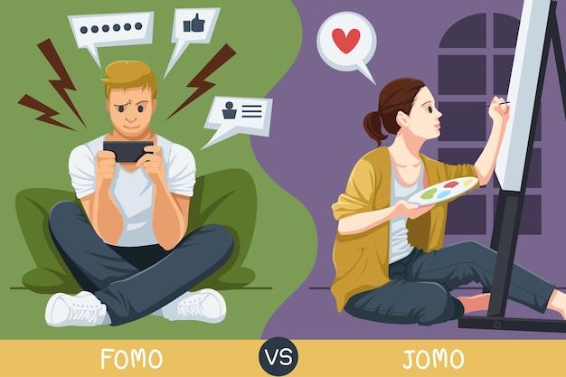 Fomo、または見逃しの恐れは、多くの人が日常的に経験する現象です