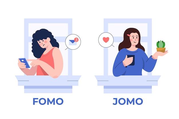 Фомо против концепции джомо