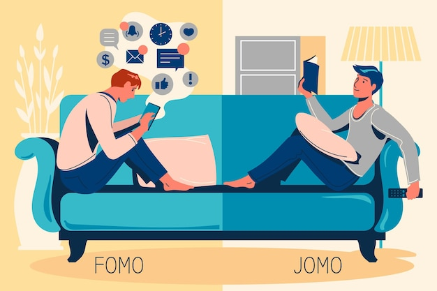 Fomo vs jomoコンセプト