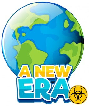 Font design for word a new era