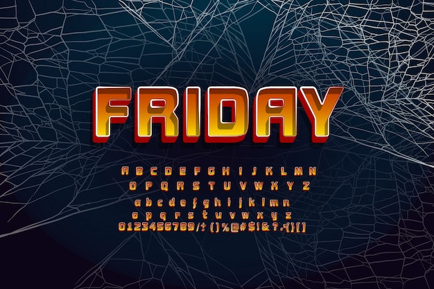 Font for halloween