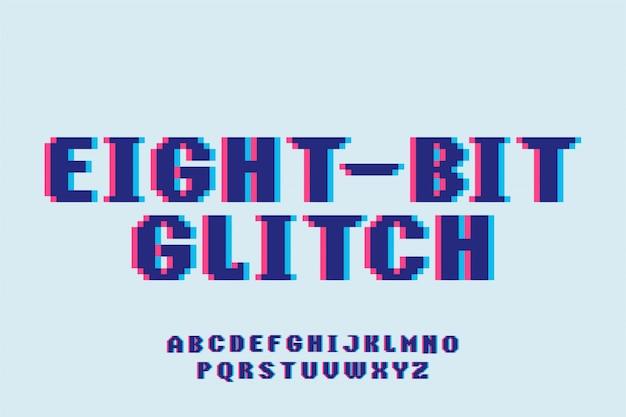 フォントレトロゲーム書体スタイルフォントタイプセットアルファベット