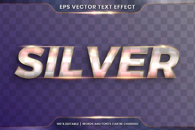 Стили шрифтов тема редактируемые металлические стекла